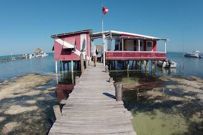 Jetty on Caye Caulker, Belize